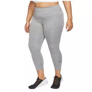 Nike Women's One Dri-Fit ¾ Tights Leggings Heather